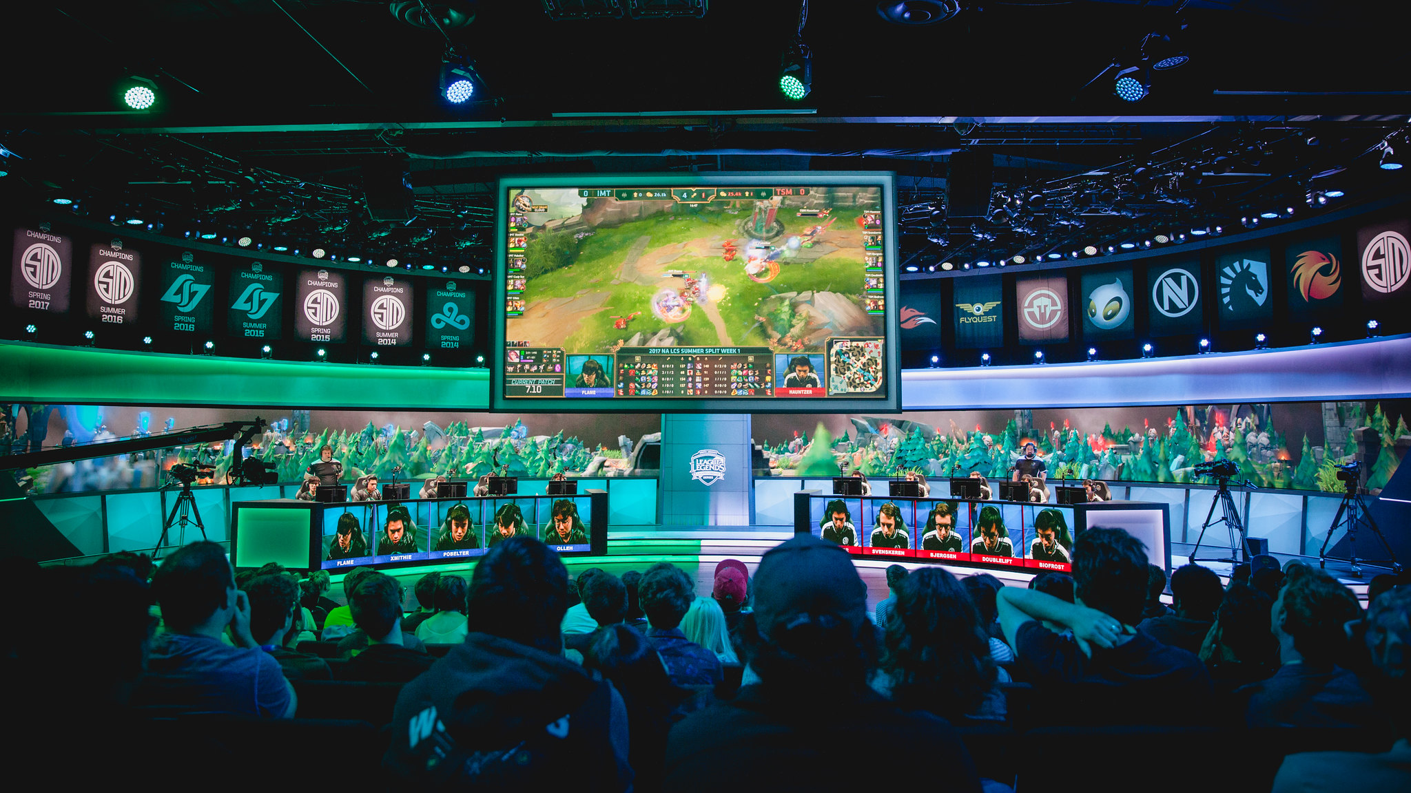 Week 1 Day 3 at the 2017 NA LCS Summer Split in Los Angeles, California. Credit: LoL Esports Photos.